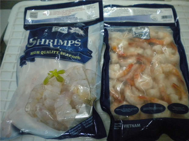 Black Tiger Shrimps Cooked Peeled Tail On (CPDTO)